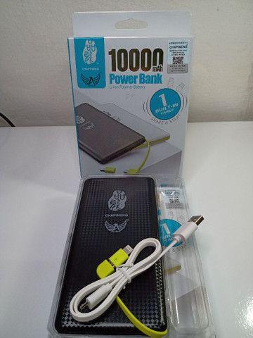 Carregador Portátil Pineng 10000mAh Original até 3 cargas completas - Foto 2