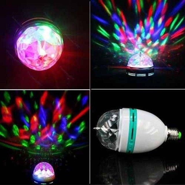 Lampada giratória para animar sua festa ! - Foto 2