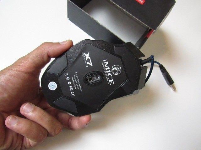 Mouse Gamer Novo IMice 5500DPI com 7 Botões com Fio e DPI Ajustável - Foto 2