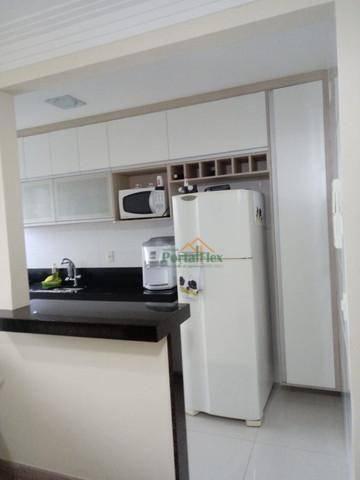 Apartamento com 3 dormitórios à venda, 76 m² por R$ 290.000,00 - Morada de Laranjeiras - S - Foto 3