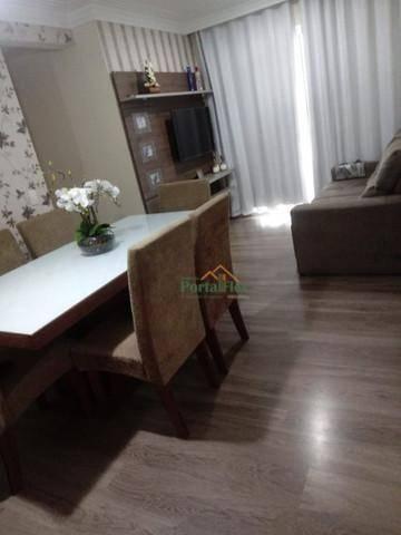 Apartamento com 3 dormitórios à venda, 76 m² por R$ 290.000,00 - Morada de Laranjeiras - S - Foto 2