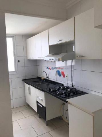 Apartamento com 1 dormitório para alugar, 60 m² por R$ 1.000,00/mês - Vila Nossa Senhora d - Foto 2