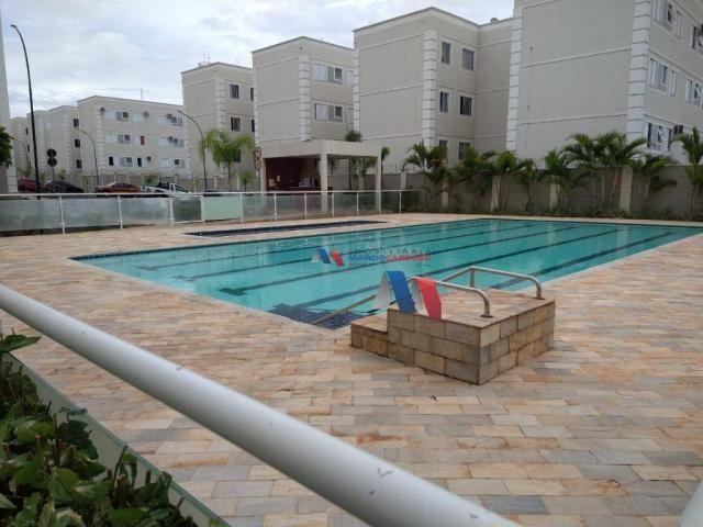 Apartamento com 2 dormitórios à venda, 50 m² por R$ 140.000,00 - Rios di Itália - São José
