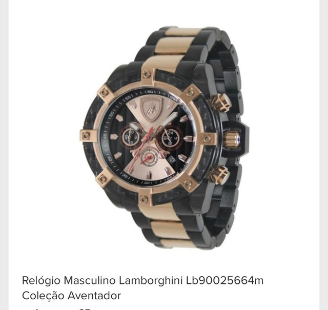 Relógio lamborghini  - Foto 5