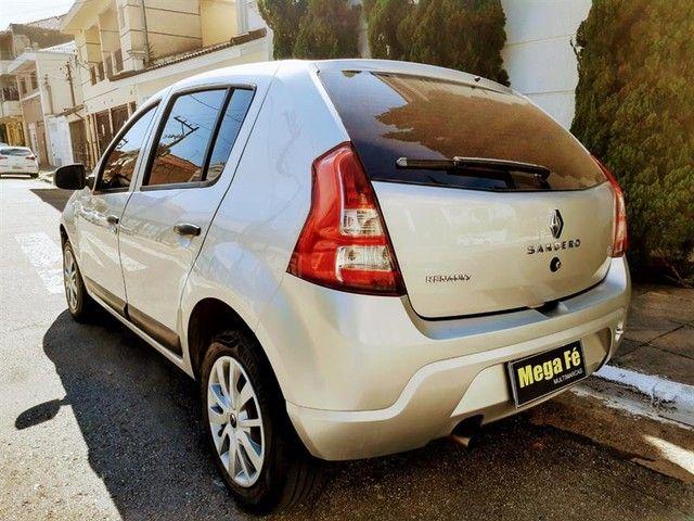 Renault Sandero Expression 1.6 Flex Prata Completo Doc Ok - Foto 9