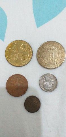 Cédulas  e moedas antigas - Foto 3