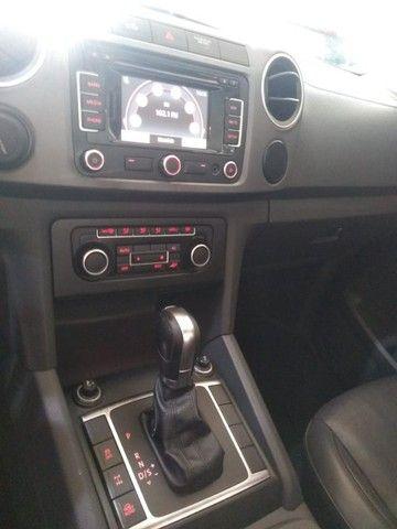 Amarok Highline 4X4 CD 2012 Automática  Diesel - Foto 5