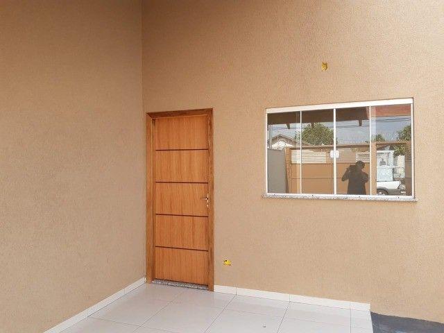 Linda Casa Nova Campo Grande com 3 Quartos No Asfalto - Foto 13