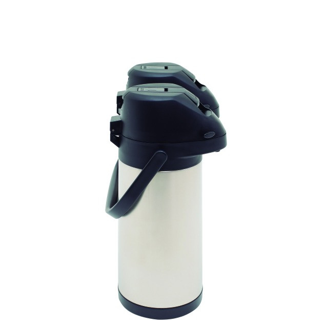 Garrafa Térmica Dupla 3,8 Litros 100% Inox Com Alavanca Mor - Original Lacrado - Foto 2