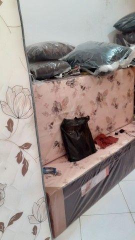 Cama casal R$ 285.00 com garantia ou cama solteiro R$ 185,90 - Foto 5