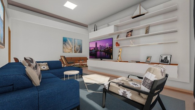 Casa térrea 4/4 com 4 suites  Condomínio Jardins Paris - Foto 7