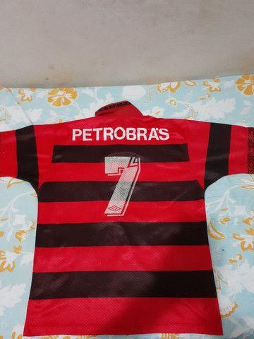Flamengo antiga da Umbro só para venda tamanho P - Foto 2