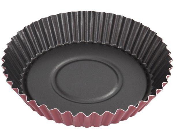 Jogo de Panelas Tramontina Antiaderente - de Alumínio Vermelho 12 Peças Turim - Foto 4