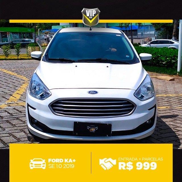 Ford Ka 2019 1.0 completo e vistoriado!!!