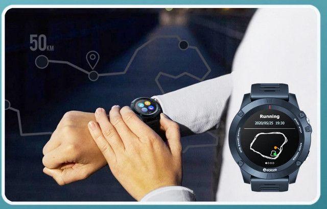 Zeblaze vibe 3 gps smartwatch freqüência cardíaca multi modos de esportes à prova água - Foto 2