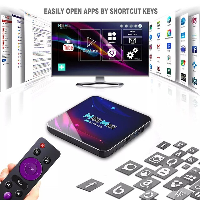 TV BOX H96 MAX 4K ULTRA HD ANDROID 11. - Foto 3
