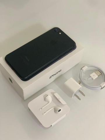 Iphone 7 128GB Preto Fosco - Usado em excelente estado - Foto 2