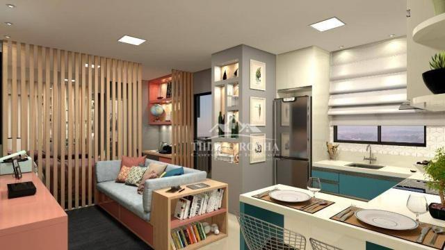 Studio com 1 dormitório à venda, 39 m² por r$ 189.000 - são pedro - são josé dos pinhais/p - Foto 5