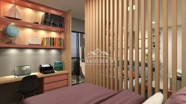 Studio com 1 dormitório à venda, 39 m² por r$ 189.000 - são pedro - são josé dos pinhais/p - Foto 6