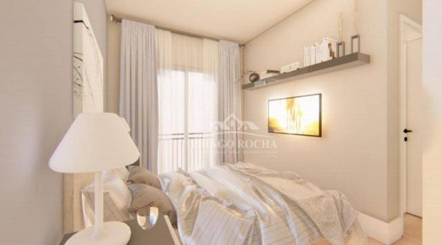 Apartamento garden com 15,45 m² para o seu pet, 2 quartos, churrasqueira e garagem coberta - Foto 7