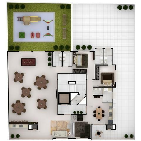 Apartamento meia praia 2 suítes com 2 vagas novo - Foto 20