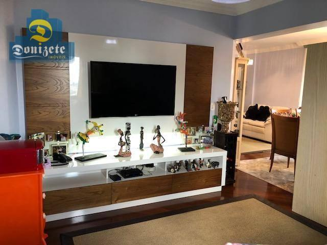 Apartamento com 3 dormitórios à venda, 150 m² por r$ 550.000,01 - vila bastos - santo andr - Foto 12