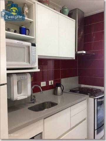 Apartamento com 3 dormitórios à venda, 89 m² por r$ 590.000,10 - cerâmica - são caetano do - Foto 5