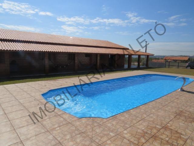 REF 225 Chácara 1187 m², casa novinha, ampla piscina, Imobiliária Paletó - Foto 12
