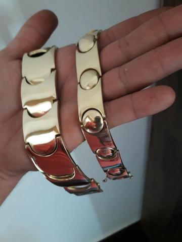 Chegou!! Bracelete moeda entrega grátis!! - Foto 3