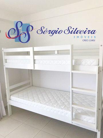 Cobertura duplex mobiliada no Mediterranée Residence no Porto das Dunas com 3 suítes - Foto 14