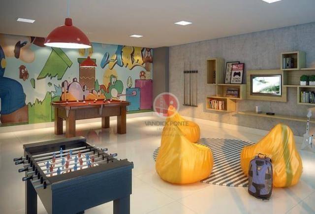 Apartamento com 2 dormitórios à venda, 56 m² por R$ 500.000,00 - Benfica - Fortaleza/CE - Foto 10