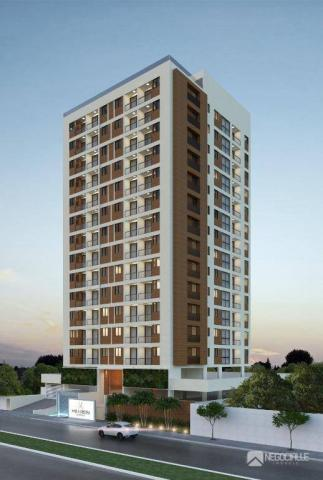 Apartamento com 1 dormitório à venda, 35 m² por R$ 230.000,00 - Bancários - João Pessoa/PB