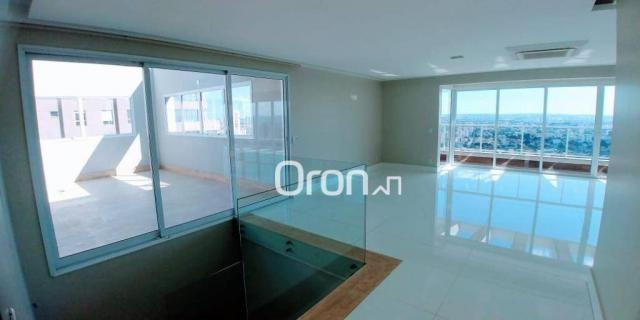 Cobertura com 5 dormitórios à venda, 467 m² por R$ 3.290.000,00 - Setor Bueno - Goiânia/GO - Foto 6