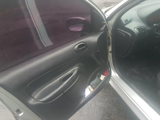 Peugeot 206 flex 2007 pra sair hoje - Foto 2