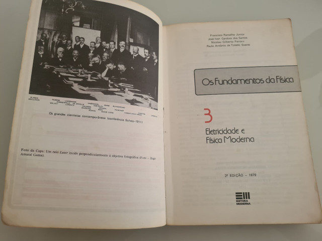 Livro de Fundamentos da Física  - Foto 2