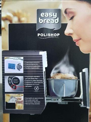 Maquina Nova de fazer pão artesanal Polishop Easy Bread - Foto 5
