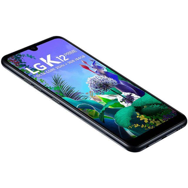 "Celular LG K12 Prime, LG 64GB 6.26"". Preto LG Prime - Foto 2"