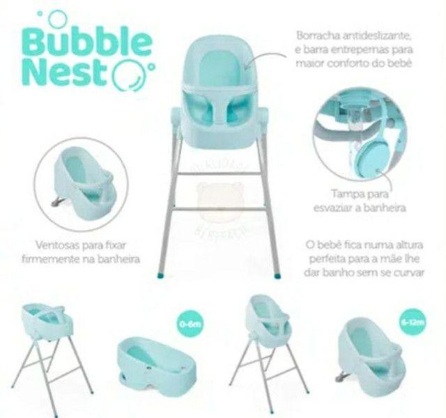 Banheira Bubble Nest Chicco - Foto 2