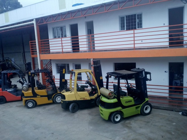 Aluguel Empilhadeira Hyster Yale Clark Toyota - Foto 3