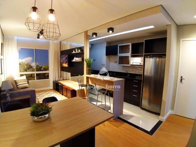 Apartamento com 2 dormitórios à venda, 46 m² por R$ 159.990 - Tijuca - Campo Grande/MS