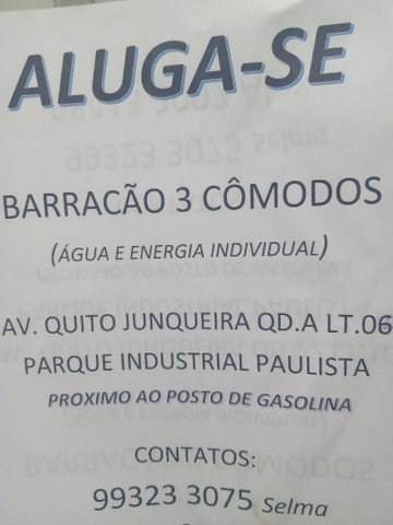 Barracão aluga Vila Regina Goiânia