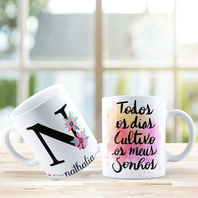Xícara personalizadas - Presente perfeito dia dos namorados