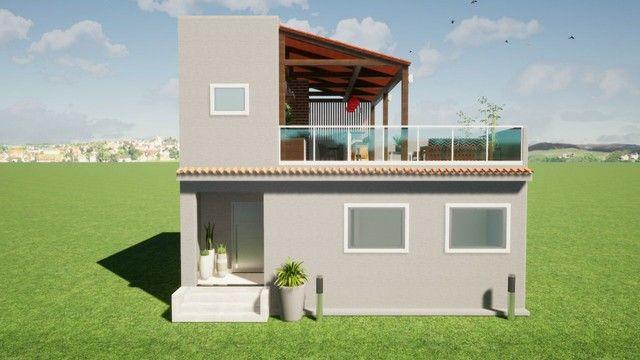 Casa em construção  em condomínio em Vargem grande  - Foto 2