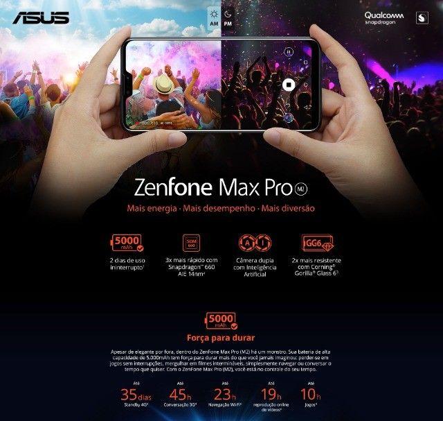 Smartphone Asus Zenfone Max Pro (M2) 6GB/64GB Black Saphire - Foto 4
