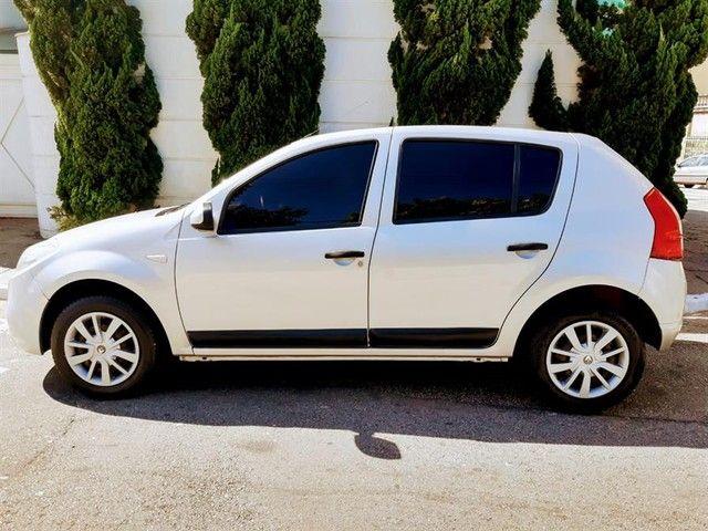 Renault Sandero Expression 1.6 Flex Prata Completo Doc Ok - Foto 10