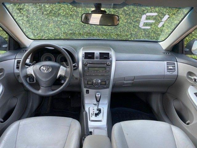 Corolla 2.0 XEI automático 2013 com bancos de couro - Foto 4
