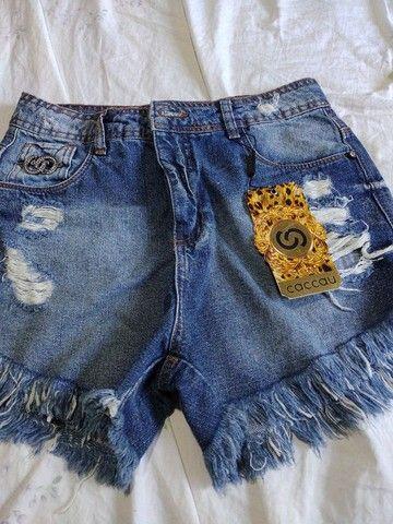 Shorts jeans Tam 40 novo