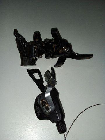 Cambio Dianteiro Shimano Slx 11v M7000 + Alavanca Slx I-spec