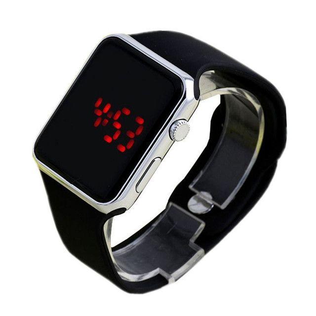 Relógio de Pulso com Pulseira de Silicone Fashion / Relógio LED Digital Esportivo - Foto 6