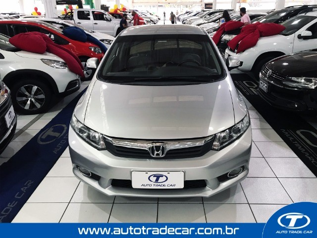 Honda Civic LXS 1.8 Aut 2014